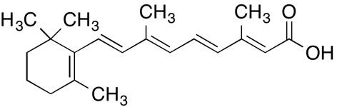molecular structure of retinoic acid