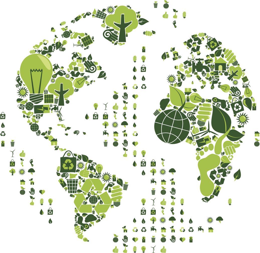 illustration of sustainability of the Earth